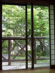 立川山荘眺望