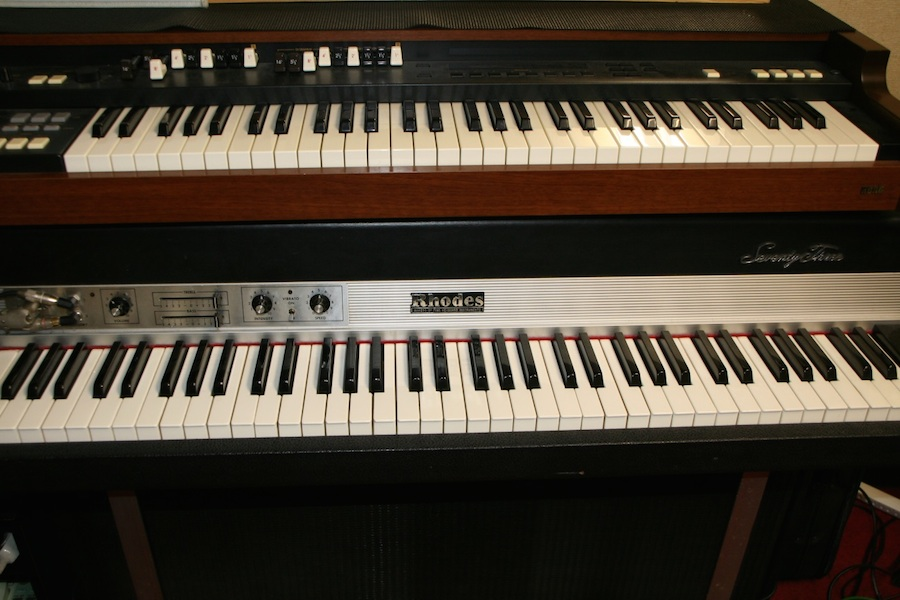 1F Rhodes Mark Ⅰ& Organ CX-3